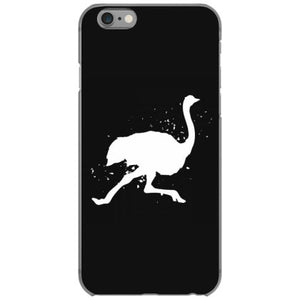 ostrich rmu farm graphic fashion iphone 6 6s hoesjes