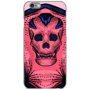 pinky skull iphone 6 6s hoesjes