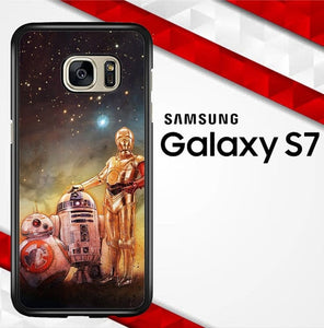 Star Wars The Force Awakens E1498 Samsung Galaxy S7 hoesjes