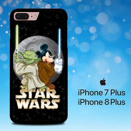 Disney Star Wars E0743 hoesjes iPhone 7 Plus , iPhone 8 Plus