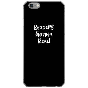 readers gonna read iphone 6 6s hoesjes