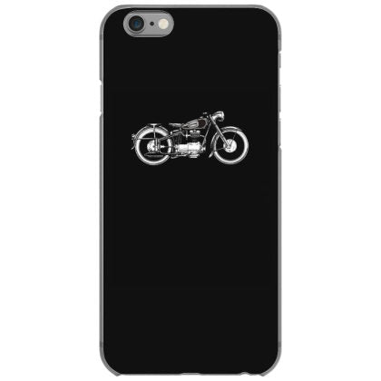 retro vintage motorcycle i love my motorcycle iphone 6 6s hoesjes