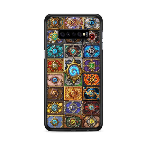 World of Warcraft Hearthstone Jewelry Glass Pendant Samsung Galaxy S10e hoesjes