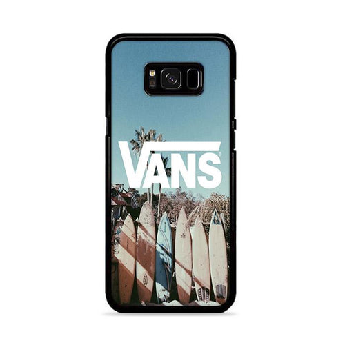 Vans Surfing Beach Samsung Galaxy S8 Plus hoesjes