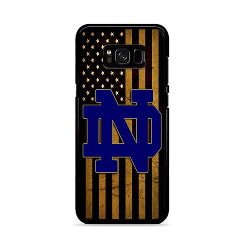 University of Notre Dame Samsung Galaxy S8 Plus hoesjes