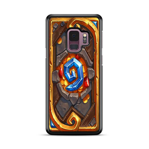 World of Warcraft Hearthstone Candle King Samsung Galaxy S9 hoesjes
