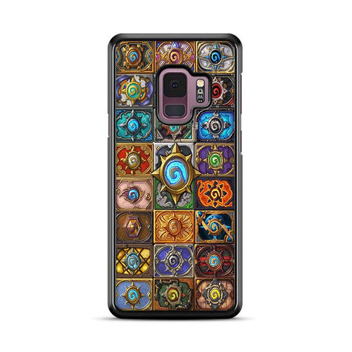World of Warcraft Hearthstone Jewelry Glass Pendant Samsung Galaxy S9 hoesjes