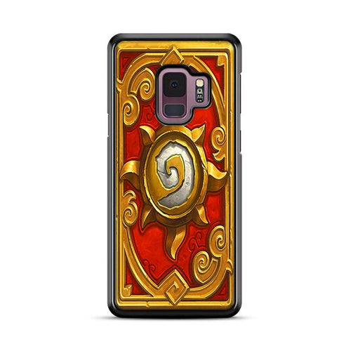 World of Warcraft Hearthstone Pandaria Samsung Galaxy S9 hoesjes