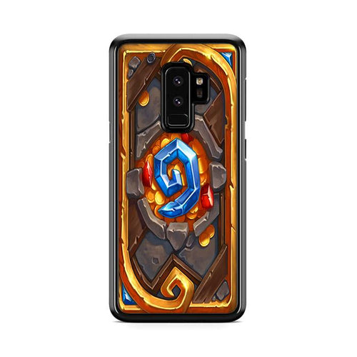 World of Warcraft Hearthstone Candle King Samsung Galaxy S9 Plus hoesjes