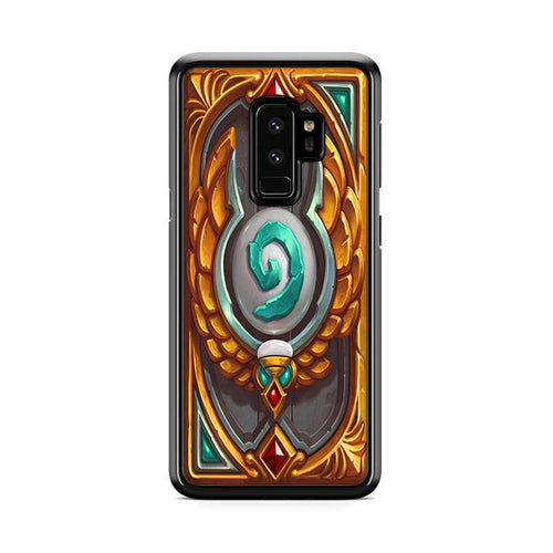 World of Warcraft Hearthstone Explore Heroic League Samsung Galaxy S9 Plus hoesjes