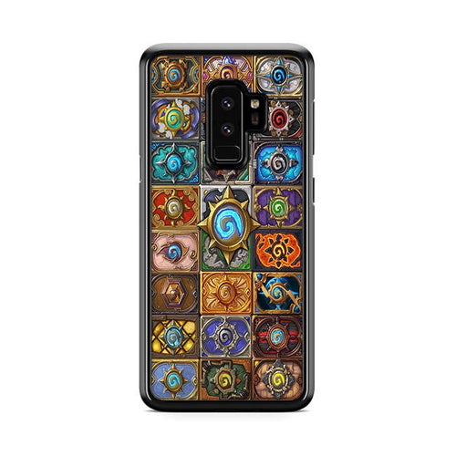 World of Warcraft Hearthstone Jewelry Glass Pendant Samsung Galaxy S9 Plus hoesjes