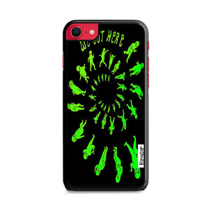 Ripndip We Out Here Party Tie Dye iPhone SE 2020 (2nd Gen) hoesjes