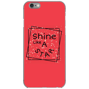 shine like a star iphone 6 6s hoesjes