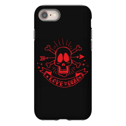 skull love to dead iphone 8 hoesjes
