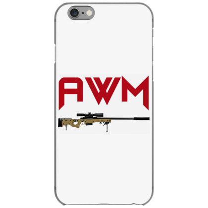 sniper rifle awm iphone 6 6s hoesjes