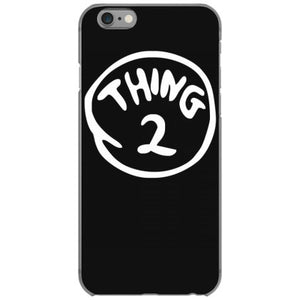 thing 1 and thing 2 red dr suess cat in a hat fancy fun iphone 6 6s hoesjes
