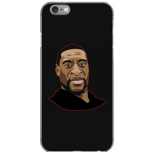 tshirt justice for george floyd vexel art iphone 6 6s hoesjes