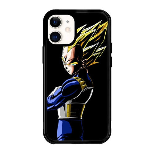 Dragon Ball Z Vegeta P1037 Iphone 12/iphone 12 mini/iphone 12 pro/iphone 12 pro max hoesje