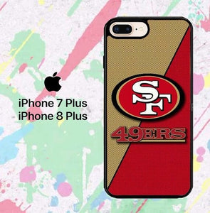 NFL San Francisco P0364 hoesjes iPhone 7 Plus , iPhone 8 Plus
