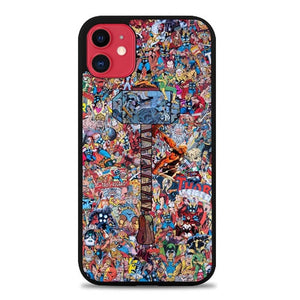 Marvel All Characters P0786 iphone 11 hoesjes