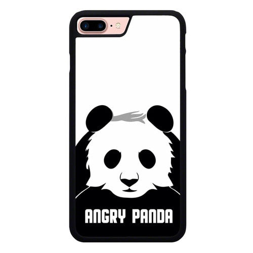 Angry Panda P1849 hoesjes iPhone 7 Plus , iPhone 8 Plus
