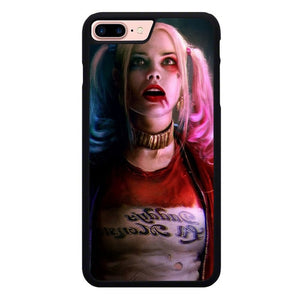 Harley Quinn P1885 hoesjes iPhone 7 Plus , iPhone 8 Plus