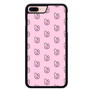 BT21 Jungkook Pattern P1908 hoesjes iPhone 7 Plus , iPhone 8 Plus
