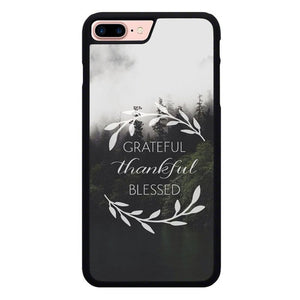 Grateful Nature P1940 hoesjes iPhone 7 Plus , iPhone 8 Plus