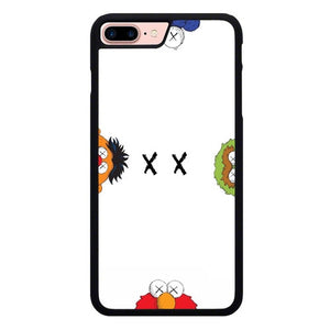 Kaws X Elmo P1946 hoesjes iPhone 7 Plus , iPhone 8 Plus
