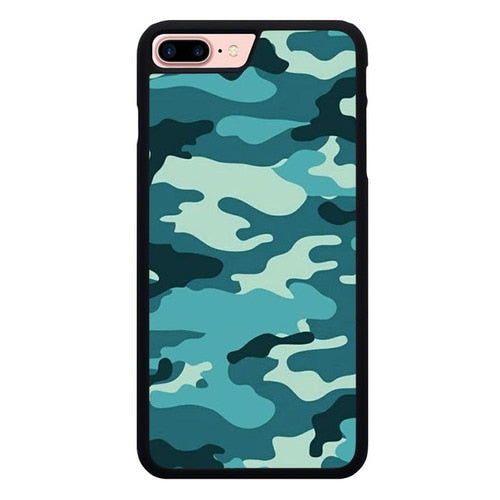 Tosca Camo Blue P1948 hoesjes iPhone 7 Plus , iPhone 8 Plus