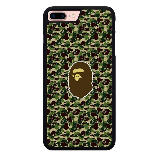 Bape Army Camo P1960 hoesjes iPhone 7 Plus , iPhone 8 Plus