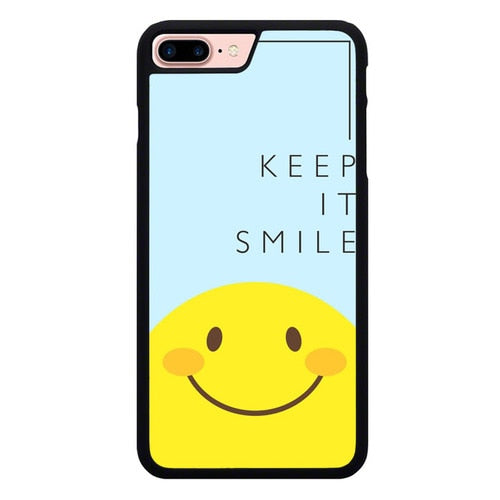 Keep And Always Smile P2006 hoesjes iPhone 7 Plus , iPhone 8 Plus