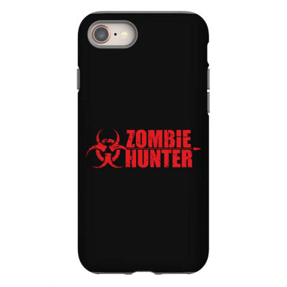 zombie hunter iphone 8 hoesjes