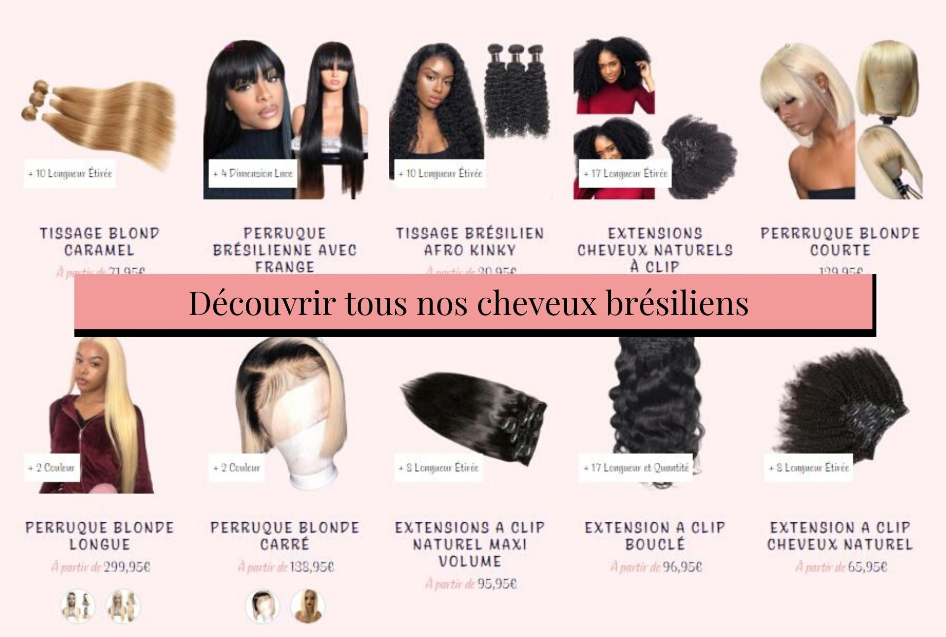 collection cheveux brésiliens hairdiva