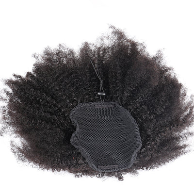 Ponytail Kinky Curly avec lacet