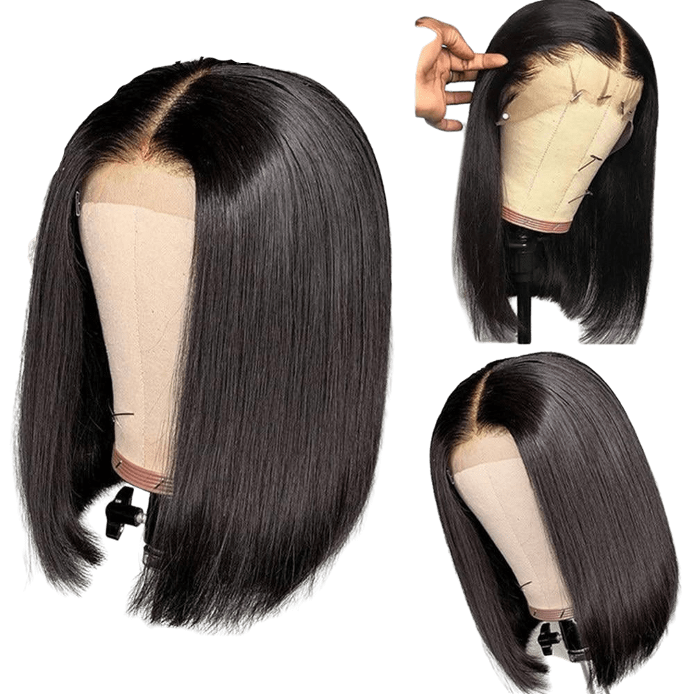 Lace wig coupe au carré