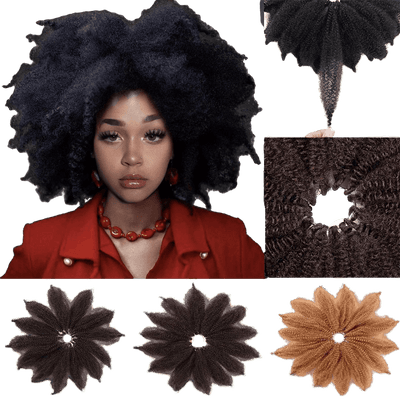 mèches crochet braids afro synthétiques