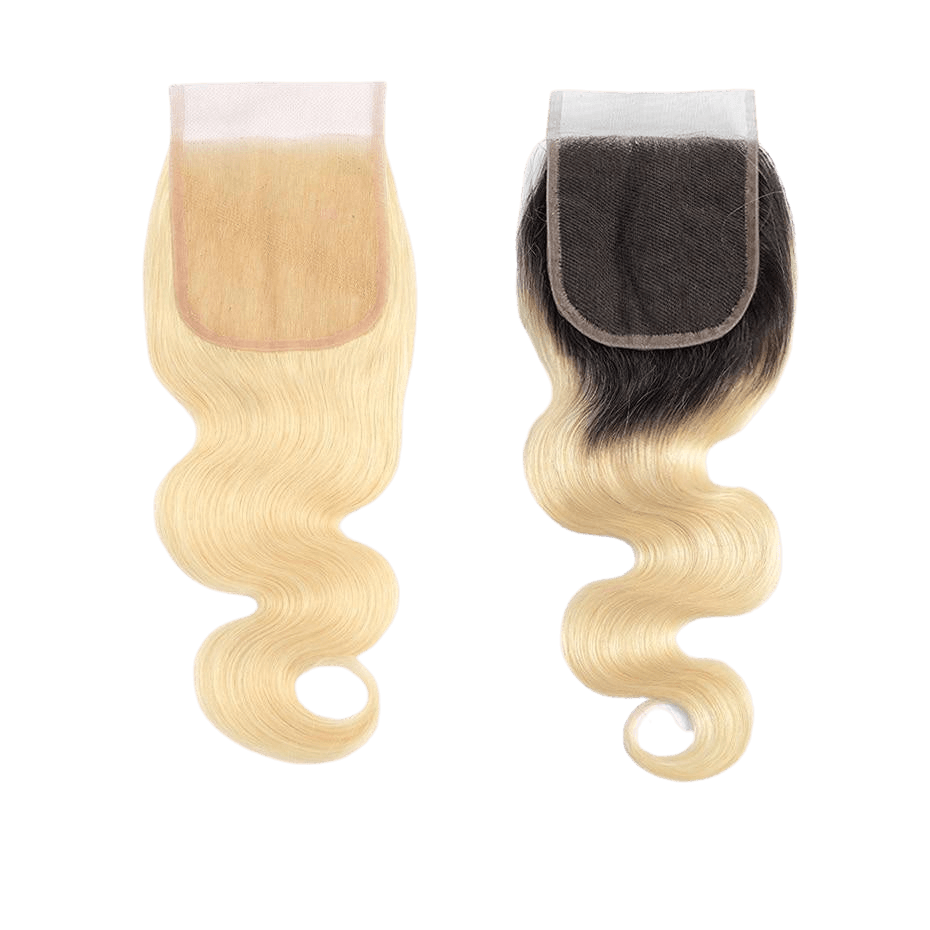 top closure blonde body wave a partir de cheveux naturels body wave