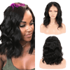 perruque body wave wig lace front