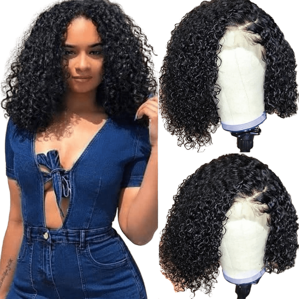 Perruque Curly Courte