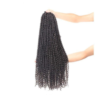 lot de Mèches Vanille Afro Twist