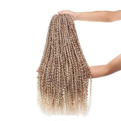 Mèches Vanille Afro Twist blondes