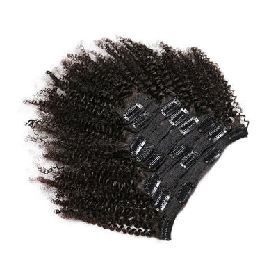 Extension a clip Afro Kinky Curly