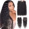 femme portant un Tissage Brésilien Water Wave Avec Top Closure