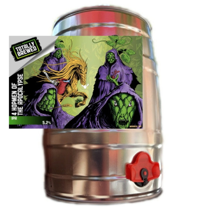 4 Hopmen of the Apocalypse 5.2% 5ltr MiniKEG