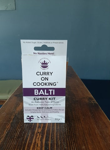 Balti Curry Kit (Medium)