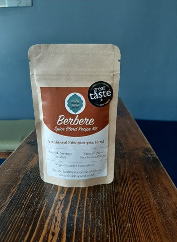 Berbere - A Traditional Ethiopian Spice Blend - multiple servings per pack