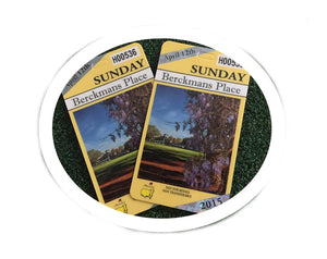 Masters Sunday Tickets