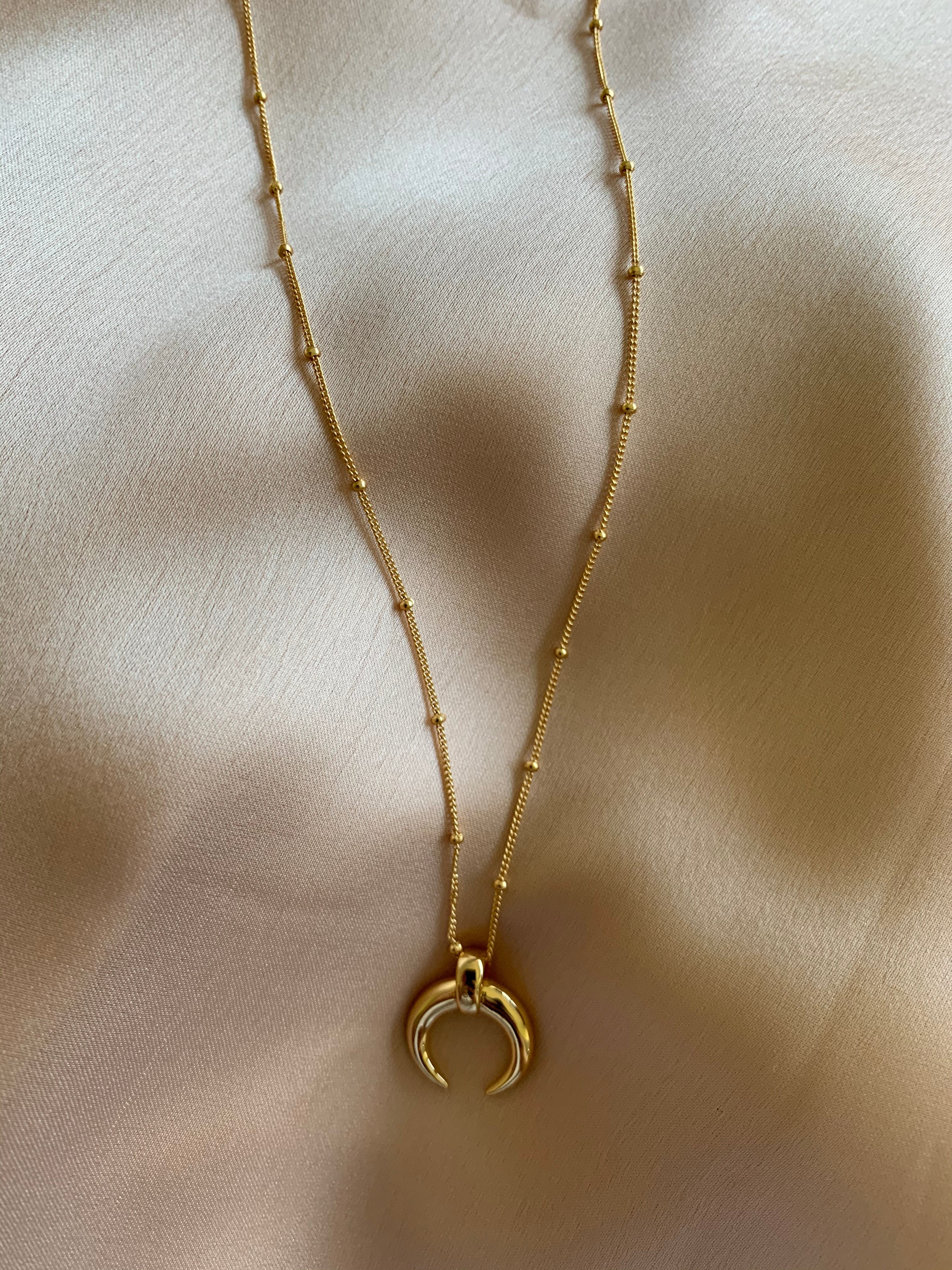 Zoe - Horn Necklace