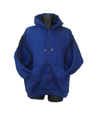 PICC LINE ZIPHOOD DIALYSIS CHEMO - ROYAL BLUE